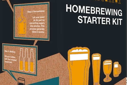 homebrewing equipment and recipe kits