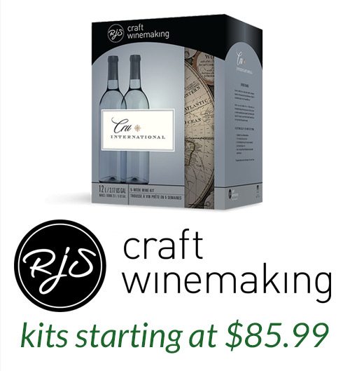 RJS Craft Winemaking  Recipe Kits